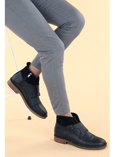 Ayakland Ayakland 5200 Cilt Termo Taban Erkek Bot Ayakkabı Siyah